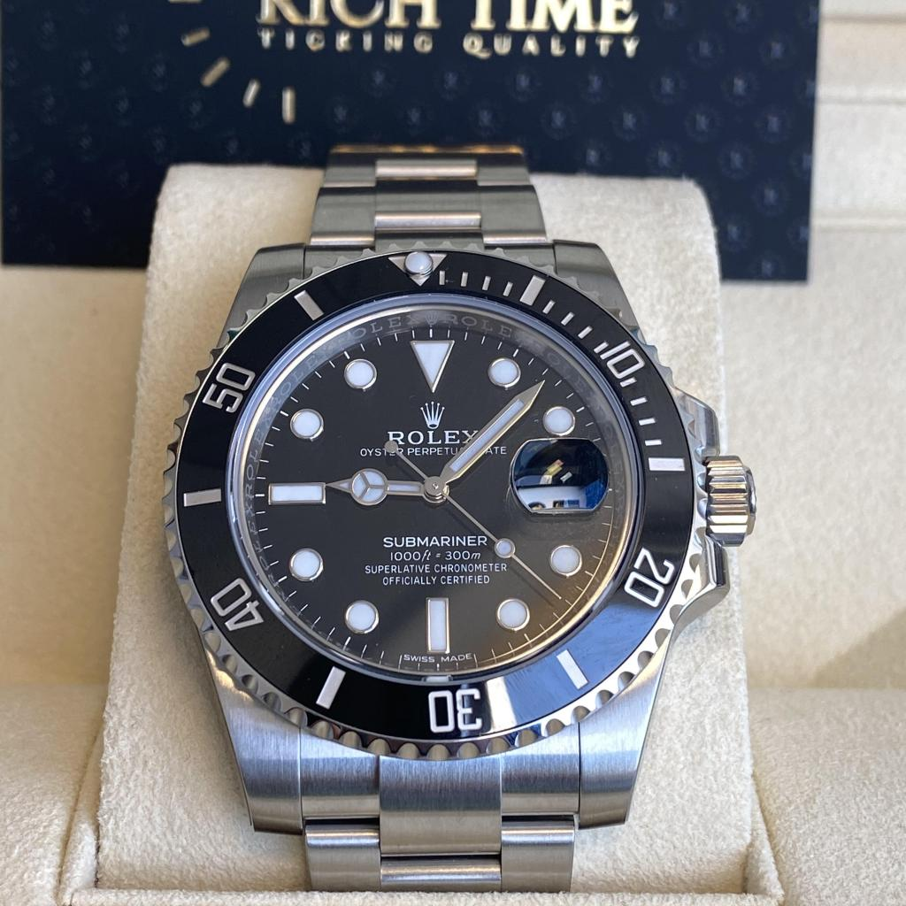 ROLEX SUBMARINER DATE / 116610LN DISCONTINUED / NEW CARD DECEMBER 2020